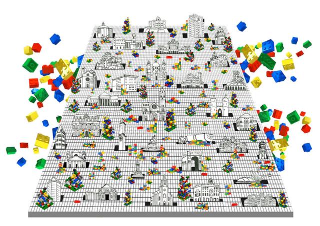 Leonardo Panusa: Build it   Tecnica mista   Genova